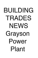 Building Trades Grayson Power Plant