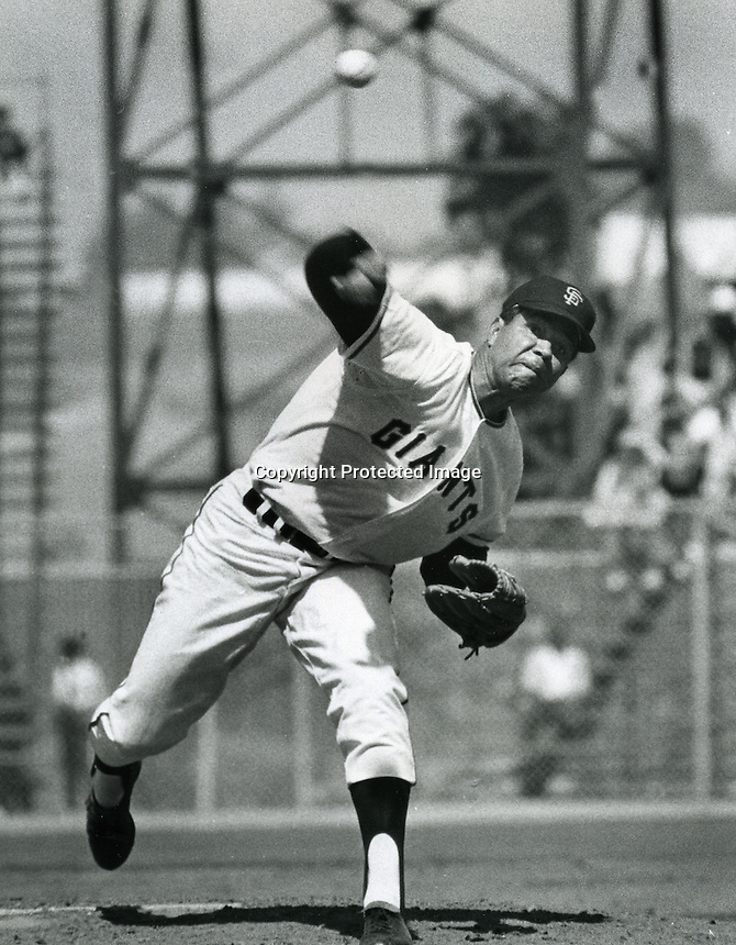 San Francisco Giants pitcher Juan Marichal.<br />