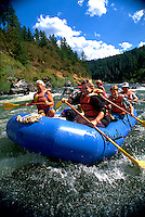 White Water Rafting on the Rogue River. Oregon.