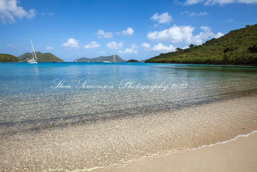 Leinster Bay<br /> Virgin Islands National Park<br /> St John<br /> USVI