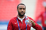 England's Nathan Redmond looks on during the UEFA Under 21 Semi Final at the Stadion Miejski Tychy in Tychy. Picture date 27th June 2017. Picture credit should read: David Klein/Sportimage