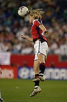Lise Klaveness, USA vs. Norway, in Boston, Ma, 2003 WWC.