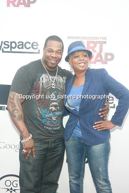 Busta Rhymes and Rah Digga Attend the NEW YORK PREMIERE OF ICE-T'S DIRECTORIAL DEBUT FILM SOMETHING FROM NOTHING: THE ART OF RAP Held at Alice Tully Hall, Lincoln Center, NY   6/12/12