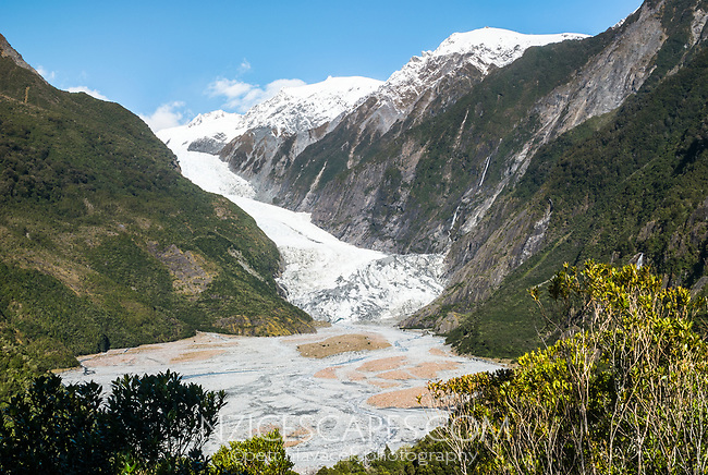 Franz Josef Glacier , Westland Tai Poutini National Park, West Coast, UNESCO World Heritage Area, New Zealand, NZ