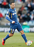 Getafe's Mehdi Lacen during La Liga match. February 27,2016. (ALTERPHOTOS/Acero)