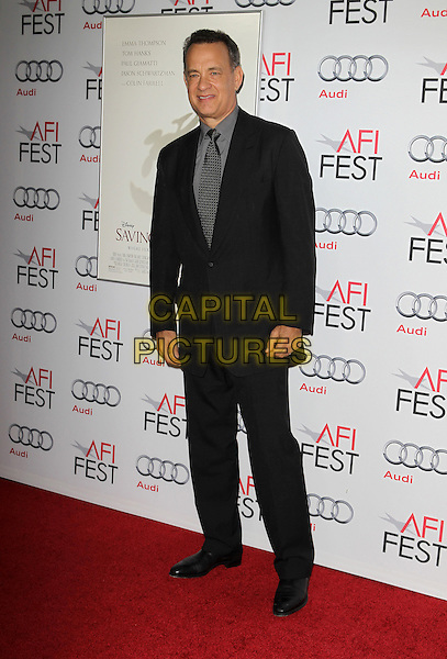 7 November 2013 - Hollywood, California - Tom Hanks. AFI FEST 2013 Presented By Audi - Disney's &quot;Saving Mr. Banks&quot; Opening Night Gala Premiere Held at TCL Chinese Theatre.   <br /> CAP/ADM/KB<br /> &copy;Kevan Brooks/AdMedia/Capital Pictures