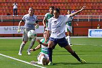 SÃO PAULO, SP, 10 DE JUNHO DE 2012 - FINAL DA COPA DO BRASIL DE FUTEBOL FEMININO: Lance durante partida São José E.C. x Centro Olimpico, válida pela Final da Copa do Brasil de Futebol Feminino em jogo realizado na manhã deste <br /> <br /> domingo (10) no Estádio do Pacaembú. FOTO: LEVI BIANCO - BRAZIL PHOTO PRESS