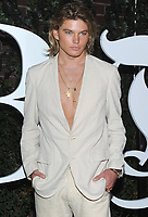 NEW YORK, NY - SEPTEMBER 09: Jordan Barrett arrives at the #BoF500 gala dinner during New York Fashion Week Spring/Summer 2018 at Public Hotel on September 9, 2017 in New York City. <br /> CAP/MPI/JP<br /> &copy;JP/MPI/Capital Pictures
