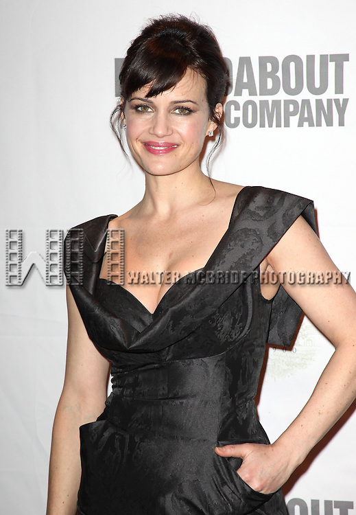 Carla Gugino.attending the Opening Night Performance After Party for the Roundabout Theatre Company's Production of 'The Road To Mecca' at the American Airlines Theatre in New York City. 1/17/2012