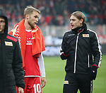 01.12.2018, Stadion an der Wuhlheide, Berlin, GER, 2.FBL, 1.FC UNION BERLIN  VS.SV Darmstadt 98, <br /> DFL  regulations prohibit any use of photographs as image sequences and/or quasi-video<br /> im Bild Union-Spieler, Sebastian Andersson (1.FC Union Berlin #10), Julian Ryerson (1.FC Union Berlin #6)<br /> <br /> <br />      <br /> Foto &copy; nordphoto / Engler