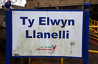 Pictured: Ty Elwyn in Llanelli, Wales, UK. Wednesday 15 November 2017<br />
