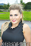 Solo Singer Nicole Flynn Castlegregory who performed at the Kerry's Got Talent finals in the INEC on Sunday ....