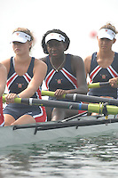 Beijing, CHINA, USA JW4-, Rachaek OGUNDIGAN,  during the 2007. FISA Junior World Rowing Championships Shunyi Water Sports Complex. Wed. 08.08.2007  [Photo, Peter Spurrier/Intersport-images]..... , Rowing Course, Shun Yi Water Complex, Beijing, CHINA,