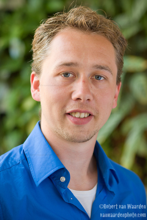 Portrait of Diederick Janse from the Hub Amsterdam.