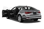 Car images close up view of a 2018 Audi S5 Sportback 3.0T Premium Plus quattro Tiptronic 5 Door Hatchback doors