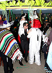 October 31st 2013   Exclusive <br /> <br /> Neil Patrick Harris NPH dressed up as a vampire for Halloween in Malibu CA with David Burtka dressed up as rabbit carried their kids on their shoulders. One of the kids was dressed up as the bride of Frankenstein and the other one was rabbit. <br /> <br /> AbilityFilms@yahoo.com<br /> 805 427 3519<br /> www.AbilityFilms.com