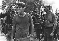 Apocalypse Now (1979)<br /> Martin Sheen, Dennis Hopper &amp; Frederic Forrest<br /> *Filmstill - Editorial Use Only*<br /> CAP/KFS<br /> Image supplied by Capital Pictures
