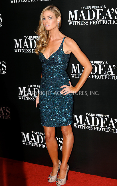 WWW.ACEPIXS.COM . . . . .  ....June 25 2012, New York City....Actress Denise Richards at 'Tyler Perry's Madea's Witness Protection' New York Premiere at AMC Lincoln Square Theater on June 25, 2012 in New York City.....Please byline: NANCY RIVERA- ACEPIXS.COM.... *** ***..Ace Pictures, Inc:  ..Tel: 646 769 0430..e-mail: info@acepixs.com..web: http://www.acepixs.com