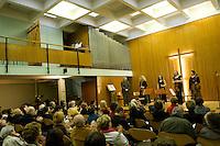 28.03.2010 Concert &quot;Les Sept Derni&egrave;res Paroles du Christ en Croix&quot; de Joseph Haydn par le Quatuor Animato.<br /> Violons:Anne Wiederker et Priscille Lachat-Sarrete<br /> Alto:Delphine Hass<br /> Violoncelle:Kayoko Yokote<br /> R&eacute;citant:Jean-Christophe Barbaud