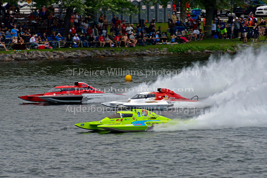 "Mathew Daoust, GP-9, Ken Brodie II, GP-50 ""Intensity"", Andrew Tate, GP-101 ""Fat Chance Too"" (Grand Prix Hydroplane(s)"