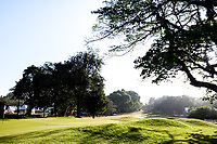 A general view of the 9th green during previews ahead of the Magical Kenya Open presented by ABSA, Karen Country Club, Nairobi, Kenya. 13/03/2019<br /> Picture: Golffile | Phil Inglis<br /> <br /> <br /> All photo usage must carry mandatory copyright credit (&copy; Golffile | Phil Inglis)