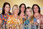 FASHION: Supporting the Tralee Musical Socity Fundraising Fashion Show in the Brandon Hotel, Tralee on Friday night.l-r: Aoife O'Dowd,Emma Quirke, Louise kelliher and Clair McEnvoy. ......................