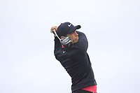 Adrien Saddier (FRA) on the 2nd tee during Round 1 of the Dubai Duty Free Irish Open at Ballyliffin Golf Club, Donegal on Thursday 5th July 2018.<br /> Picture:  Thos Caffrey / Golffile
