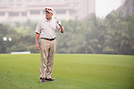 Michael Douglas plays during the World Celebrity Pro-Am 2016 Mission Hills China Golf Tournament on 23 October 2016, in Haikou, Hainan province, China. Photo by Marcio Machado / Power Sport Images