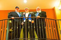 7/28/12 1:29:44 PM - Warminster, PA. -- Andrea & Dan - July 28, 2012 in Warminster, Pennsylvania. -- (Photo by Joe Koren/Cain Images)