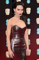 Eva West at the 2017 EE British Academy Film Awards (BAFTA) held at The Royal Albert Hall, London, UK. <br /> 12 February  2017<br /> Picture: Steve Vas/Featureflash/SilverHub 0208 004 5359 sales@silverhubmedia.com