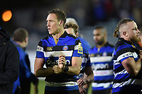 James Wilson of Bath Rugby looks on after the match. Aviva Premiership match, between Bath Rugby and Wasps on December 29, 2017 at the Recreation Ground in Bath, England. Photo by: Patrick Khachfe / Onside Images