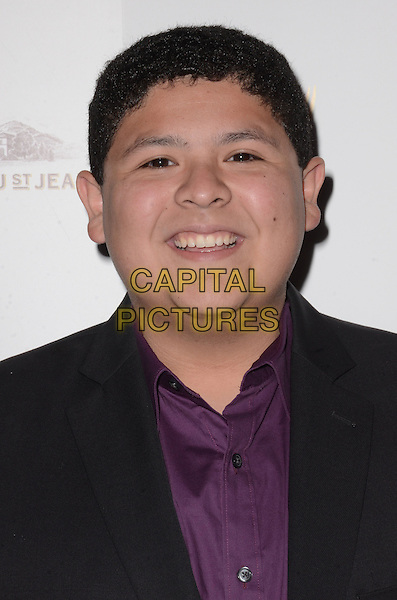 09 September  2015 - Beverly Hills, California - Rico Rodriguez. Arrivals for the Television Academy's 67th Emmy Award Nominees for Outstanding Casting held at TheMontage Beverly Hills.   <br /> CAP/ADM/BT<br /> &copy;Birdie Thompson/AdMedia/Capital Pictures