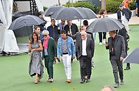 """CANNES, FRANCE. May 18, 2019: Penelope Cruz, Pedro Almodovar, Antonio Banderas & Thierry Fremaux at the photocall for the """"Pain and Glory"""" at the 72nd Festival de Cannes.<br /> Picture: Paul Smith / Featureflash"""