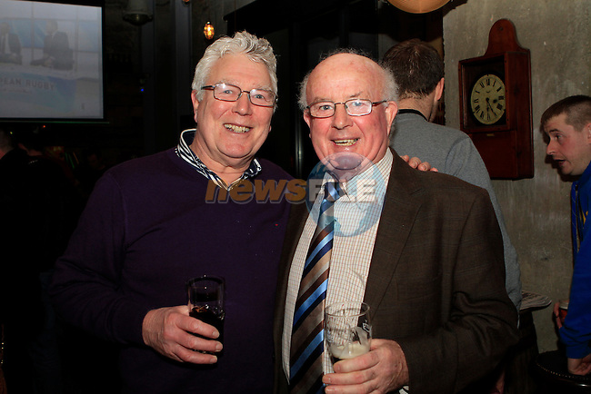 Jimmy McCormack and Kevin Lawless in Cairnes...Photo NEWSFILE/Jenny Matthews..(Photo credit should read Jenny Matthews/NEWSFILE)