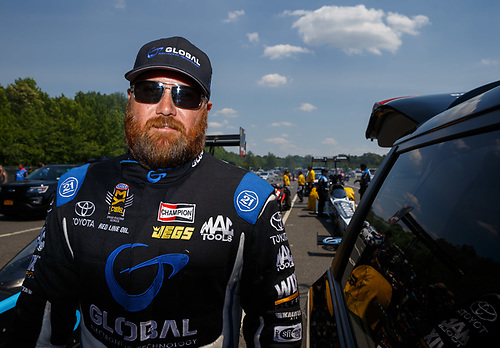 NHRA Mello Yello Drag Racing Series<br /> NHRA Summernationals<br /> Old Bridge Township Raceway Park, Englishtown, NJ USA<br /> Saturday 10 June 2017 Shawn Langdon, Global Electronic Technology, top fuel dragster <br /> <br /> World Copyright: Mark Rebilas<br /> Rebilas Photo