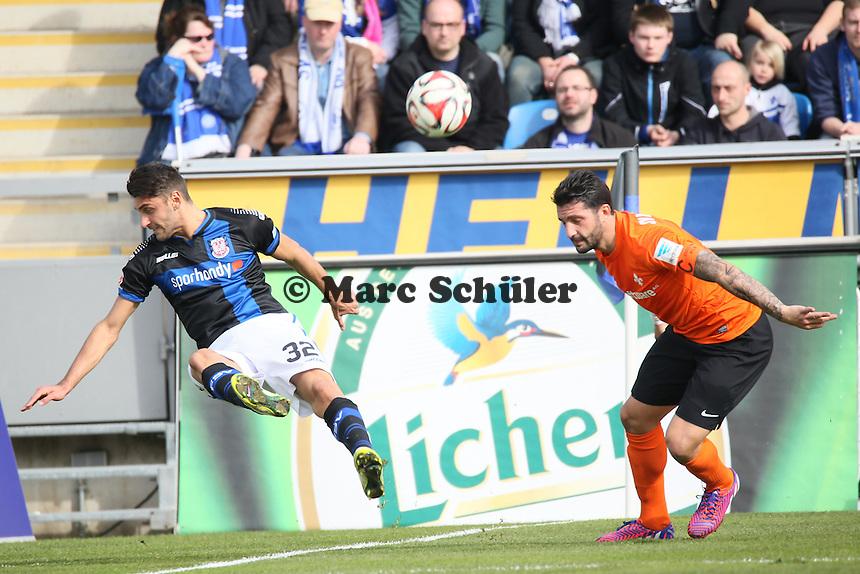 Vincenzo Grifo (FSV) gegen Aytac Sulu (SV98) - FSV Frankfurt vs. SV Darmstadt 98, Frankfurter Volksbank Stadion
