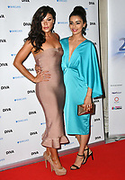 Faye Brookes, Bhavna Limbachia at the DIVA Magazine Awards - Lesbian and bisexual magazine hosts annual awards ceremony at Waldorf Hilton, London, 8th June 2018, England, UK.<br /> CAP/JOR<br /> &copy;JOR/Capital Pictures