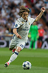 Luka Modric of Real Madrid  during the match of Champions League between Real Madrid and Atletico de Madrid at Santiago Bernabeu Stadium  in Madrid, Spain. May 02, 2017. (ALTERPHOTOS/Rodrigo Jimenez)