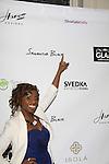Delaina Dixon - Diva Gals Daily at Samantha Black Fashion Show - NYC Fashion Week - September 7, 2013 - New York City, NY (Photo by Sue Coflin/Max Photos)