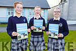 Laura Daly (Ballymac) and Jessica O'Leary (Farranfore) collected the Senior Award for Music with the  Junior Award going to Hannah Herlihey (Castleisland)<br />  L to r: Laura Daly, Hannah Herlihy and Jessica O'Leary.