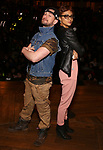 """Roddy Kennedy and Syndee Winters attend The Rockefeller Foundation and The Gilder Lehrman Institute of American History sponsored High School student #EduHam matinee performance of """"Hamilton"""" at the Richard Rodgers Theatre on 3/15/2017 in New York City."""
