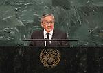 72 General Debate &ndash; 22 September <br /> <br /> <br /> <br />  Foreign Minister Don Pramudwinai of tiling