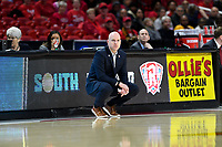 College Park, MD - March 23, 2019: Radford Highlanders head coach Mike McGuire  during first round action of game between Radford and Maryland at Xfinity Center in College Park, MD. Maryland defeated Radford 73-51. (Photo by Phil Peters/Media Images International)