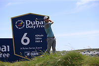 Max Schmitt (GER) tees off the 6th tee during Thursday's Round 1 of the Dubai Duty Free Irish Open 2019, held at Lahinch Golf Club, Lahinch, Ireland. 4th July 2019.<br /> Picture: Eoin Clarke | Golffile<br /> <br /> <br /> All photos usage must carry mandatory copyright credit (© Golffile | Eoin Clarke)