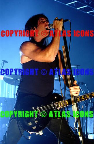 Nine Inch Nails, 2005.Photo Credit: David Atlas/Atlas Icons.com
