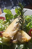 """Europe/France/Rhone-Alpes/74/Haute-Savoie/Megève: Les nems de Reblochon recette du Restaurant de piste: """"Le Matou"""" au pied du téléphérique de Rochebrune"""