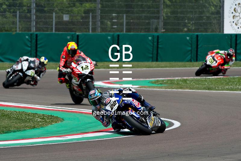 2016 FIM Superbike World Championship, Round 05, Imola, Italy, 29 April - 1 May 2016, Alex Lowes, Yamaha