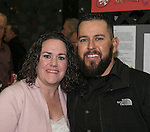 Amanda and Olber Sandoval during the Jack T. Reviglio Cioppino Feed & Auction at the Donald W. Reynolds Facility in Reno on Saturday, February 25, 2017.