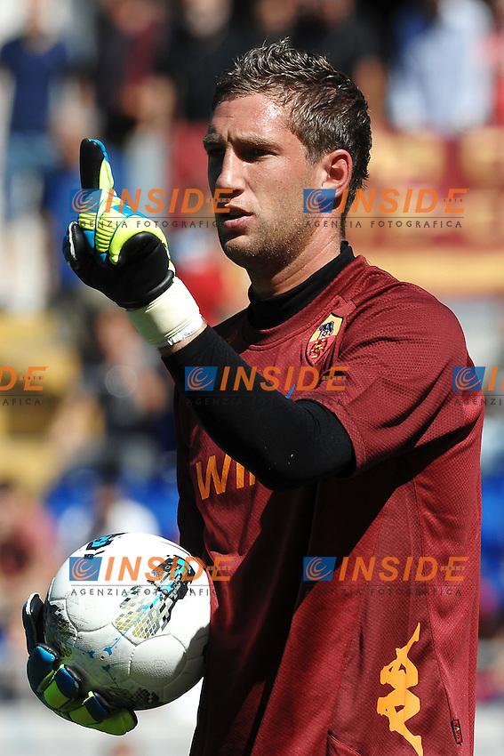 "Maarten STEKELENBURG Roma.Roma 11/9/2011 Stadio ""Olimpico"".Football Calcio 2011/2012 Serie A.Roma Vs Cagliari.Foto Insidefoto Andrea Staccioli"