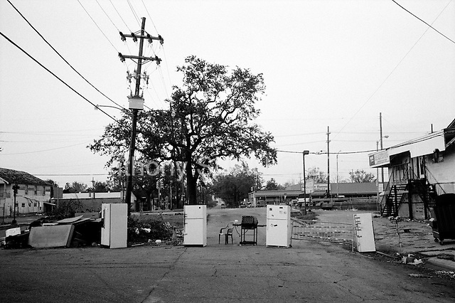 New Orleans, Louisiana.USA.September 28, 2005 ..Hurricane Katrina damage and recovery.